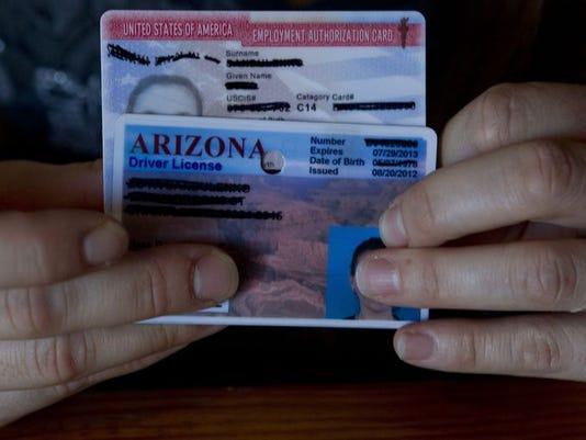 Illegal immigrant licenses