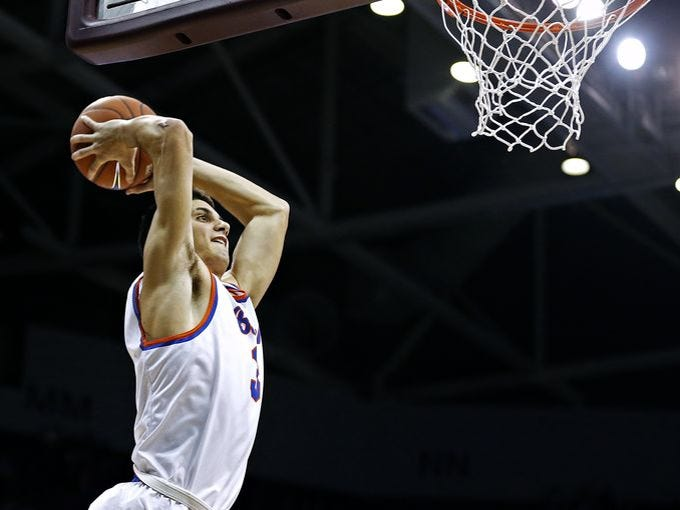Arizona State commit Sam Cunliffe of Rainier Beach