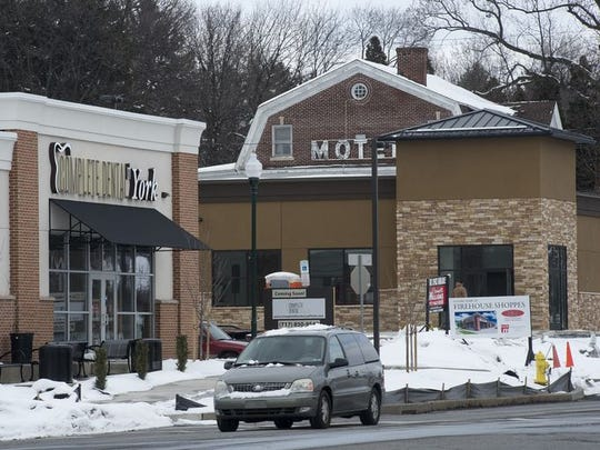 Moe's Southwest Grill will open in April at the Firehouse Shoppes, a new retail center in Springettsbury Township on East Market Street.