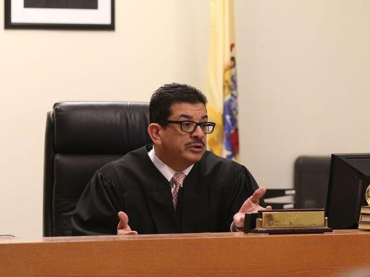 Middlesex County Superior Court Judge Dennis Nieves