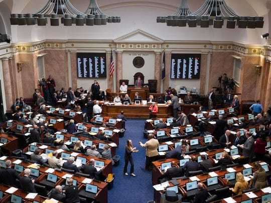 The Kentucky General Assembly will be back in session at 8 a.m. on Friday.