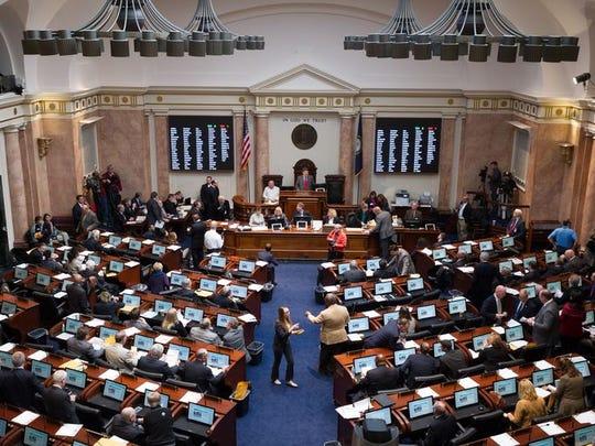 Kentucky legislature.