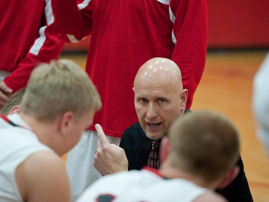 Buckeye Central coach Phil Loy wins the Telegraph-Fourm