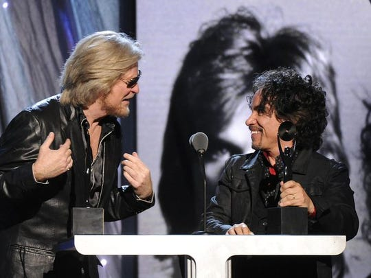 Daryl Hall and John Oates will be in concert.