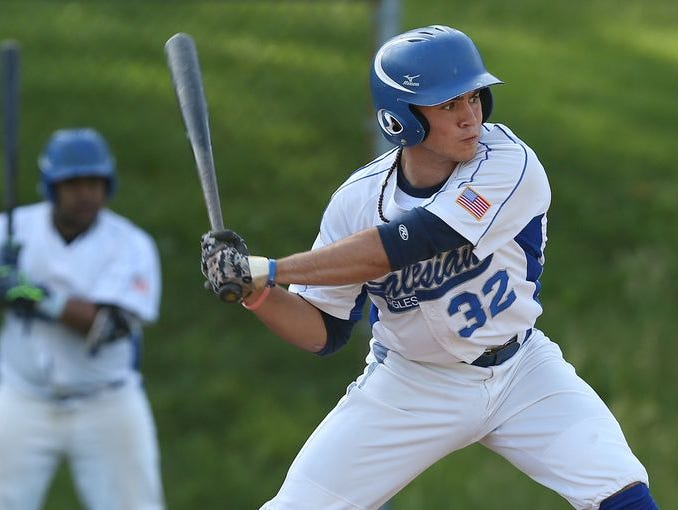Salesian defeated Iona 2-1 the CHSAA baseball championship tournament at Manhattanville College in Purchase June 3, 2015.