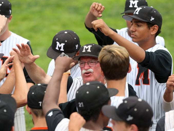 Mamaroneck defeated Valley Central 4-3 in a Class AA baseball regional semifinal at Cantine Field in Saugerties on June 5, 2015.