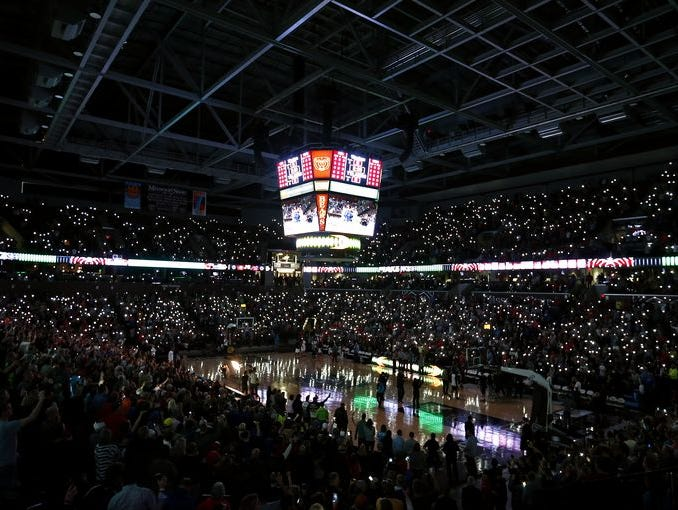 JQH Arena during the 2015 Bass Pro Tournament of Champions.