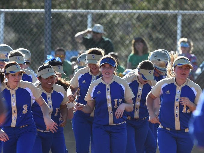 The Reed softball is pursuing a second straight state championship.