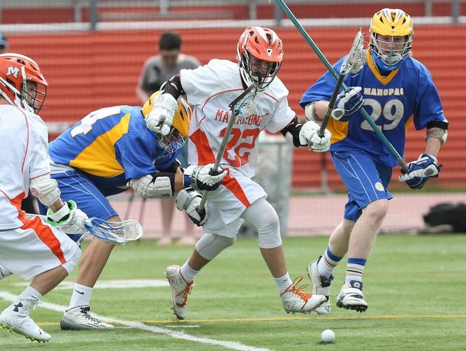Eric Greenberg and Mamaroneck are hosting Bronxville today at 5 p.m.