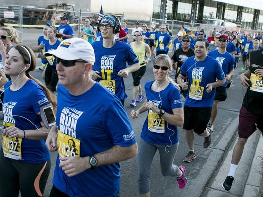 This year's Pat's Run marks the 12th anniversary of