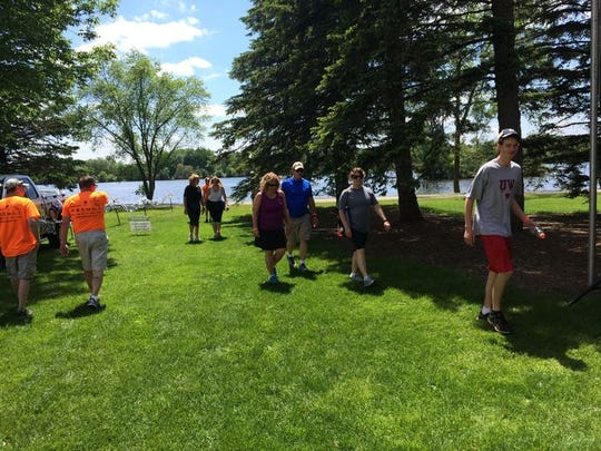 The 12 annual Walk Wisconsin will take place on June 4 along the Green Circle Trail in Portage County.