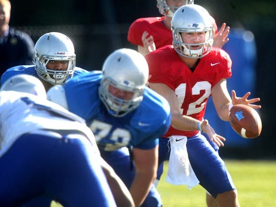 Quarterback Brent Stockstill is still learning everything