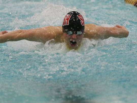 SPASH's Ben Harris capped his season by placing fifth