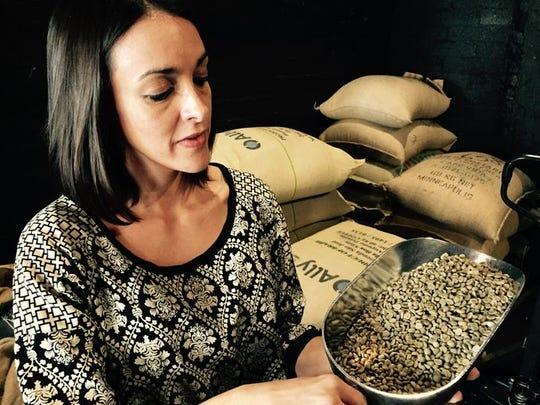 Julia Peixoto Peters, owner of Peixoto Coffee Roasters.