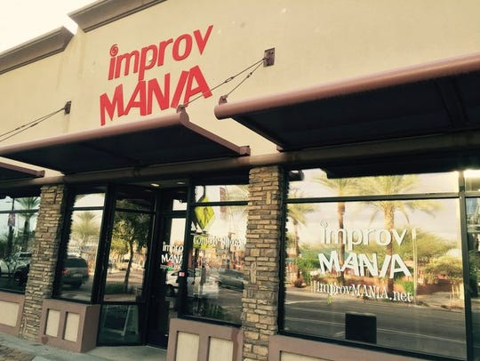 ImprovMANIA in downtown Chandler.