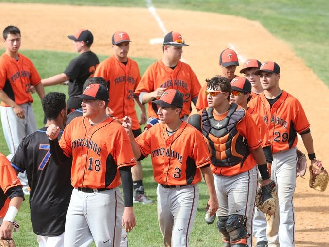 Tuckahoe defeated Chest 6-1 in the Class C baseball regional semifinal at Cantine Field in Saugerties on June 5, 2015.