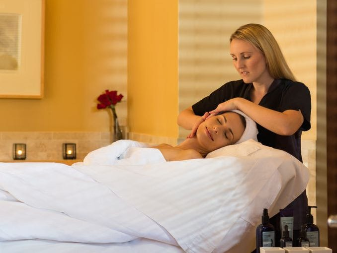 Check into an AZ hotel & treat yourself to a massage, facial or pedicure.