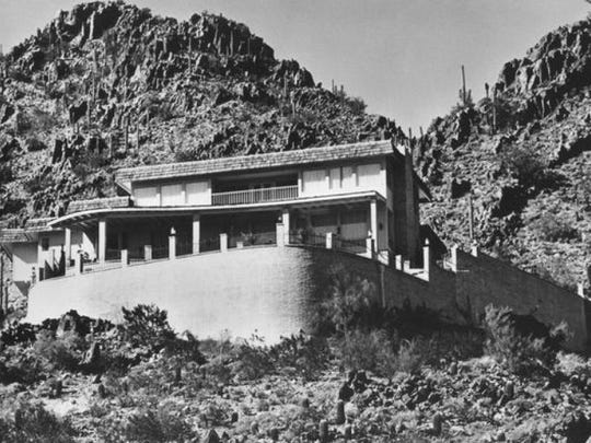 Governor's Mansion in Paradise Valley. This home is no longer there.
