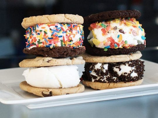 Sammies in Chandler offers customized ice-cream sandwiches.