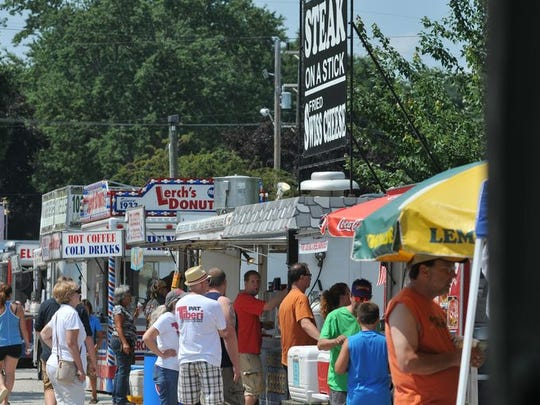 The Lexington Blueberry Festival returns Aug. 18-23.