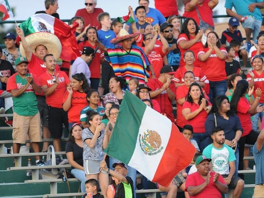 Fans cheered as Mexico won its first Colt World Series