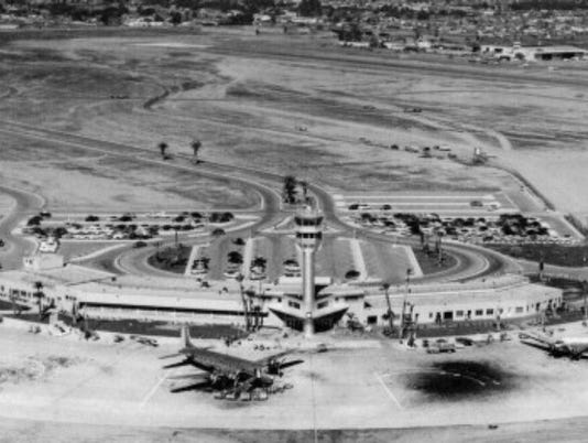 Sky Harbor Airport 1954