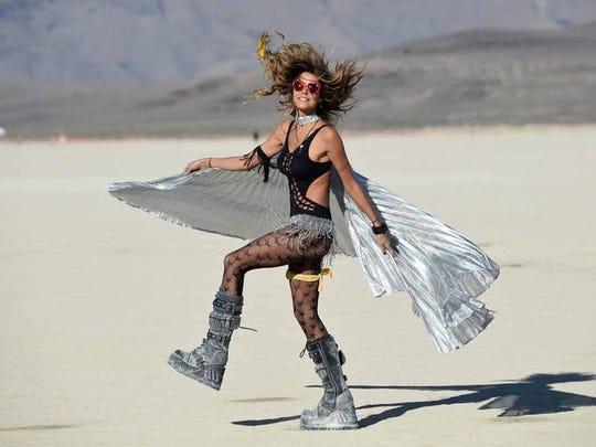 Burning Man hits the Black Rock Desert Aug. 31-Sept. 5 2016.