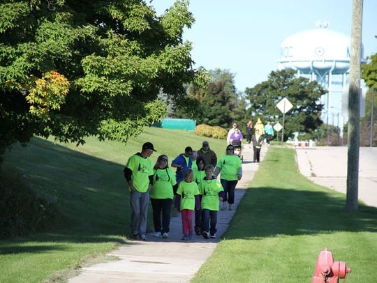 The Pig to Pig Walk is Saturday, Sept. 10. Registration