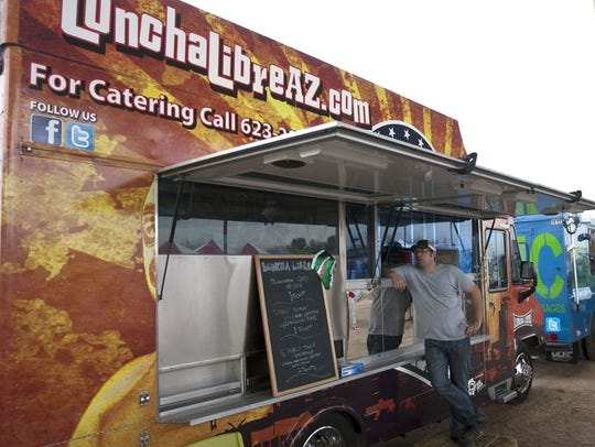 United Lunchadores is a food truck for street gourmet