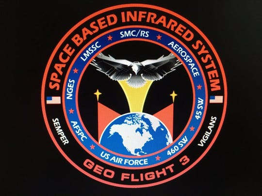 Mission patch for U.S. Air Force's Space Based Infrared