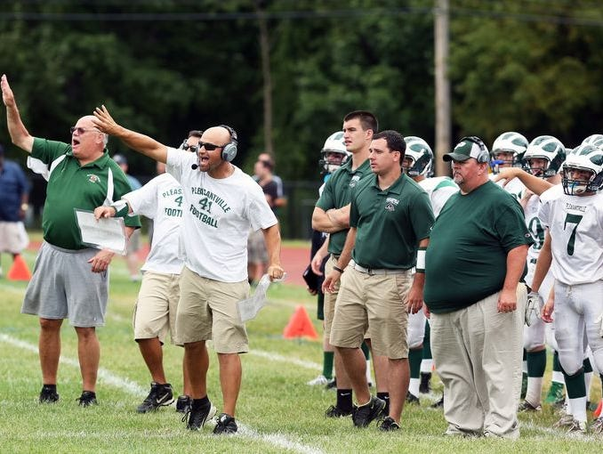 Pleasantville and coach Tony Becerra are No. 1 in Class B through Week 5.