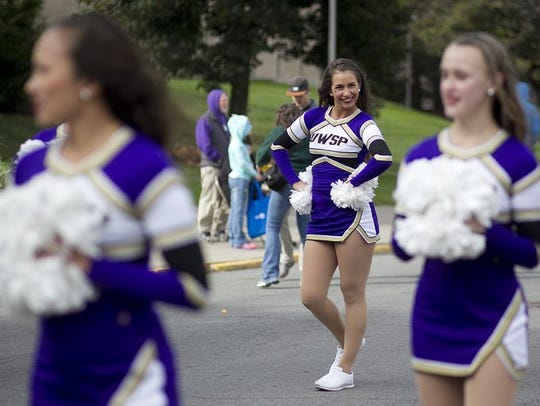 The University of Wisconsin-Stevens Point homecoming