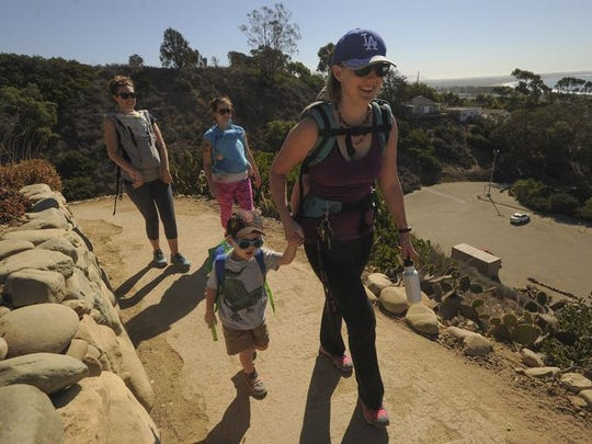 Visitors can explore the Ventura Botanical Gardens' demonstration trail on Saturday.