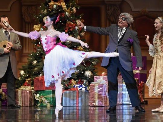 "A.V.A. Ballet Theatre's performance of  ""The Nutcracker."""