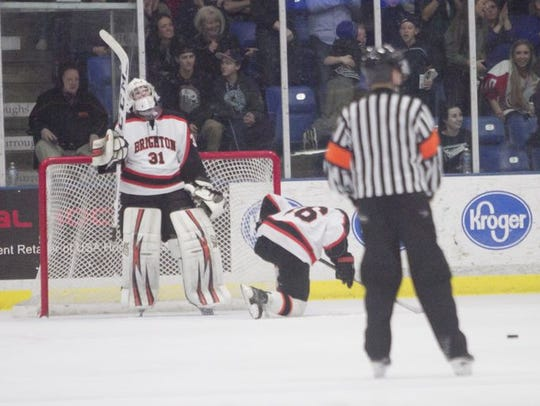 Brighton hockey reached the state championship game