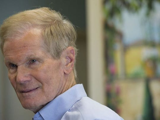 U.S. Sen. Bill Nelson, seen here speaking with local business leaders at Witham Field in Stuart, tried to save part of the Affordable Care Act that would keep the cost of prescription medicines from rising for the elderly.
