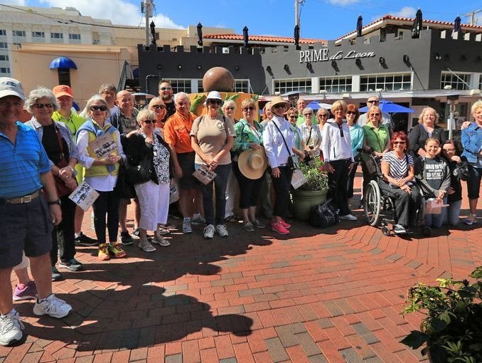 The News-Press partnered with True Tours for a Fort Myers Historic River District Walk and Photo Class. News-Press Insiders were given a chance to tour historic downtown Fort Myers and snap photos along the way.