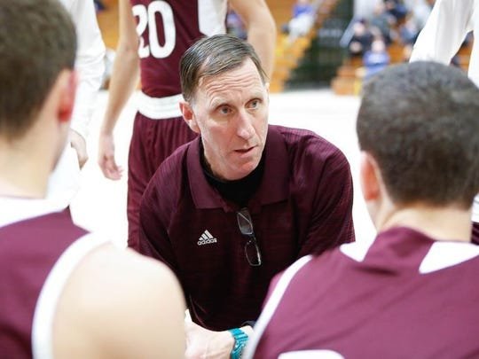 Bill Murphy pictured during a game at his former school, New Rochelle, The second-year Scarsdale coach has led his team to its first County Center appearance since 2008.