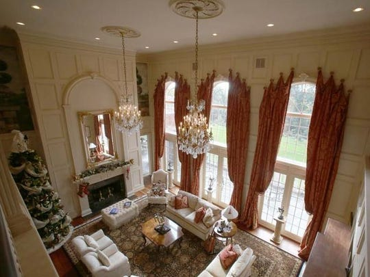 This $12.5 million mansion in Northville has had a $2 million price cut.