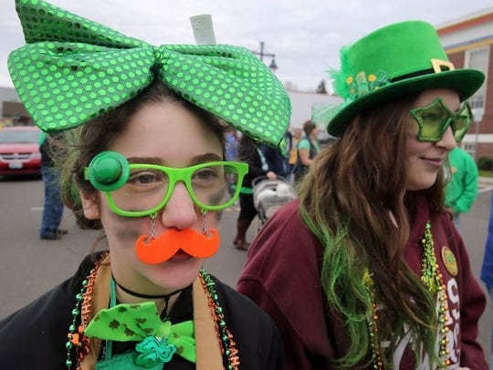 The Bremerton St. Patrick's Day Parade takes place
