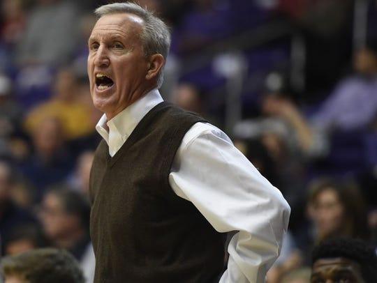 Belmont coach Rick Byrd