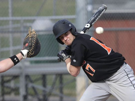 Paul Maguire is one of three returning Marshfield baseball