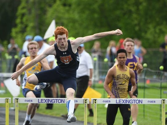 Galion's Colin McCullough was part of four school records in the Division II regional meet at Lexington.