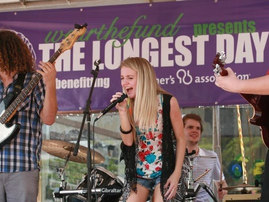 There will be live entertainment  once again for the Wear The Fund's 5th Annual Longest Day®, which raises funds and awareness for Alzheimer's.