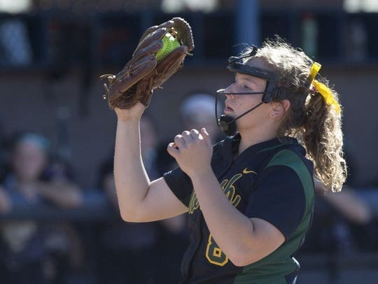 North Hunterdon ace Maggie Swan is the Breakout Pitcher