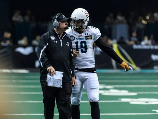 Kevin Guy has coached the Arizona Rattlers since 2008