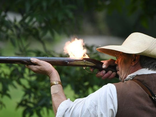 A living history camp is part of Malabar Farm's annual
