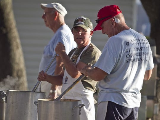 It has been 15 years since the annual Sebastian Clambake began its run at Riverview Park in Sebastain.