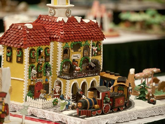 The Omni Grove Park Inn has hiked parking rates during the National Gingerbread House Competition, in part because of limited parking spaces.