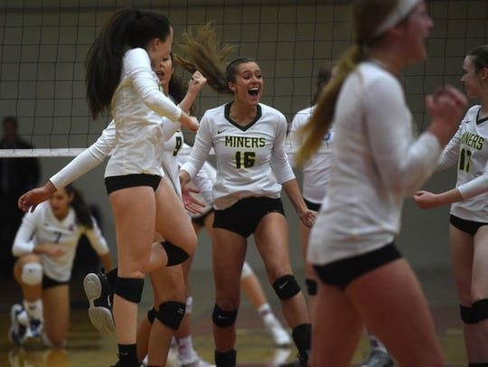 Bishop Manogue won the Northern 4A volleyball title